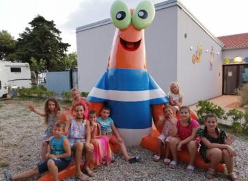 Ljetovanje djece u Dječjem odmaralištu Varaždin na Rabu 2021.